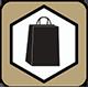 icone dei prodotti consegnati in un elegante packaging